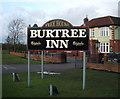 NZ2618 : Sign for the Burtree Inn by JThomas