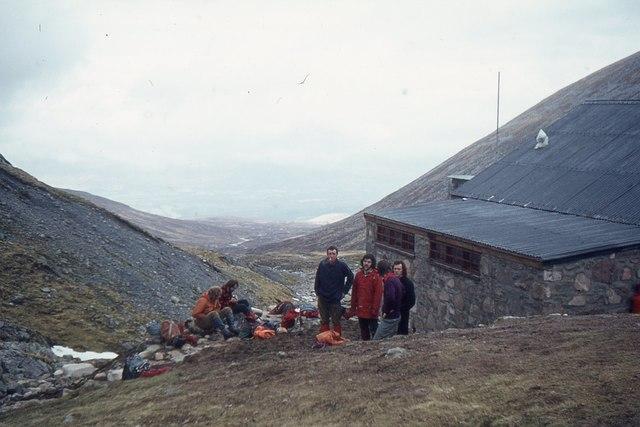 CIC hut, Ben Nevis in 1975