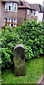 ST3091 : North side of an old milestone, Malpas, Newport by Jaggery
