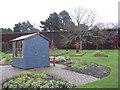 NT2475 : Garden shed at the 'Botanics' by M J Richardson