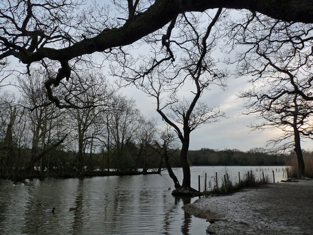 Connaught Water in winter