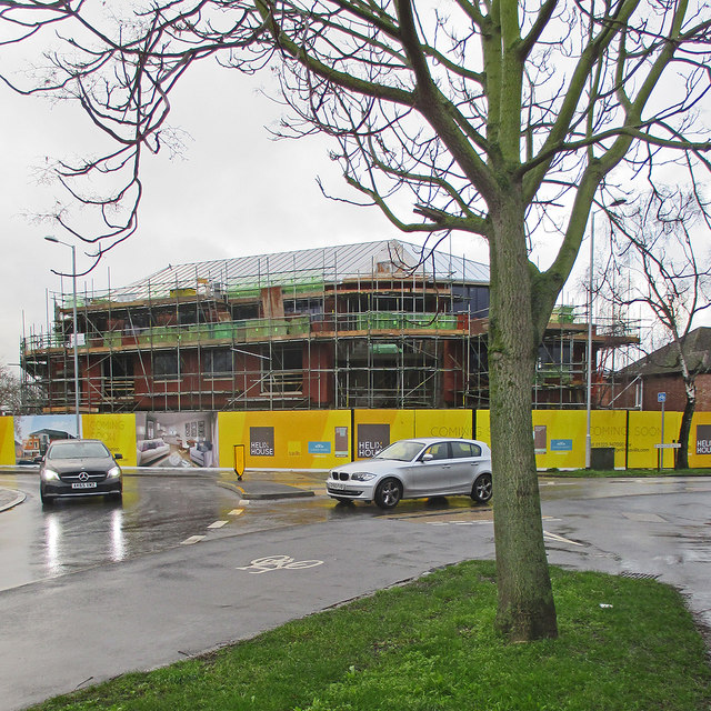 New building at Radegund Road corner