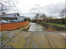 SJ9495 : The canal past Aldi by Gerald England
