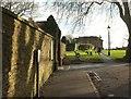 ST5774 : Beside Redland churchyard by Derek Harper