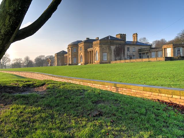 Heaton Hall and Ha-Ha