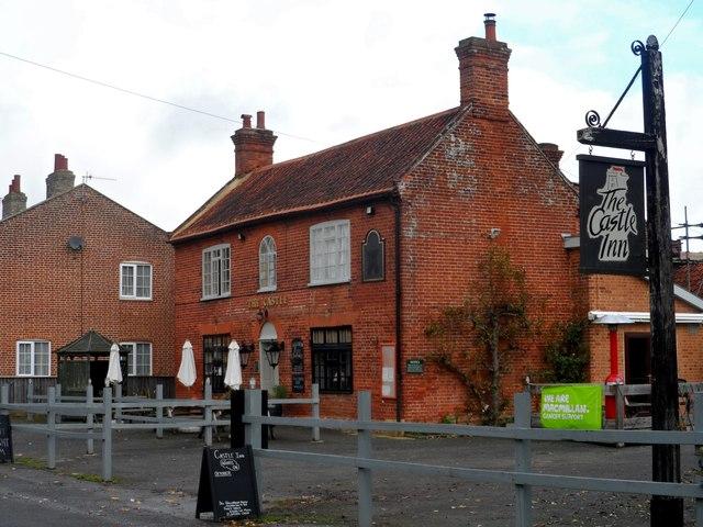 The Castle pub, Bredfield