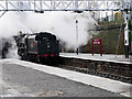 SD8010 : The Lancashire Fusilier Arrives at Bolton Street Station by David Dixon