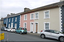 SN4562 : Coloured Houses of West Wales (10) by Nigel Mykura