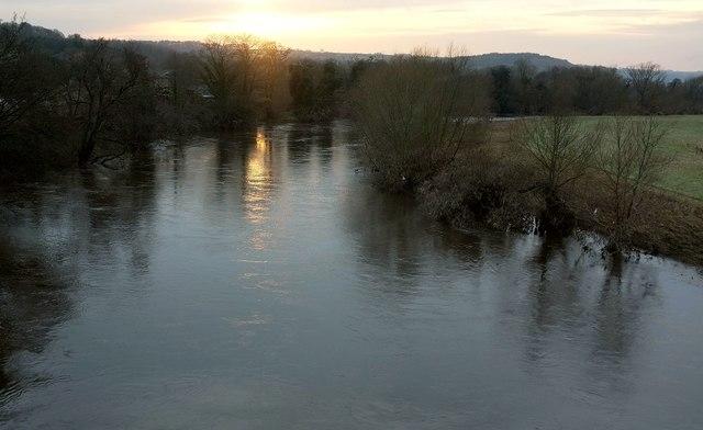 River Wharfe at Harewood Bridge