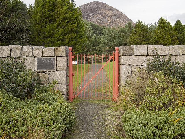 Ornamental gate, Silent Valley