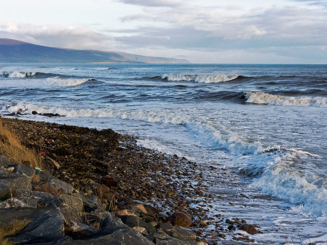 High tide at Brora