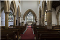 SK7761 : Interior, St Laurence's church, Norwell by Julian P Guffogg