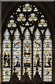 SK7761 : East window, St Laurence's church, Norwell by Julian P Guffogg