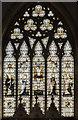 SK7761 : East window, St Laurence's church, Norwell by Julian P Guffogg