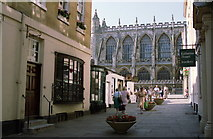ST7564 : Bath Abbey from the South by Jeff Buck