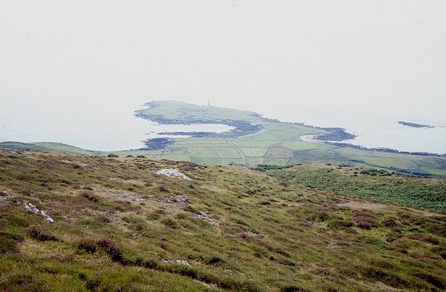 View from Mynydd Enlli