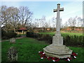 TG1604 : Hethersett War Memorial by Adrian S Pye