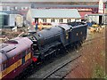 SD8010 : Flying Scotsman at Bury South Junction by David Dixon
