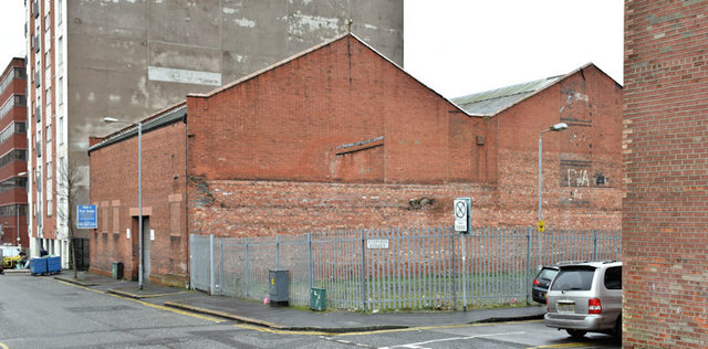 Nos 18/26 Library Street, Belfast (January 2016)