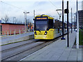 SJ9399 : Metrolink Terminus at Ashton-Under-Lyne by David Dixon