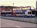 SJ9399 : Stagecoach Buses at Ashton Bus Station by David Dixon