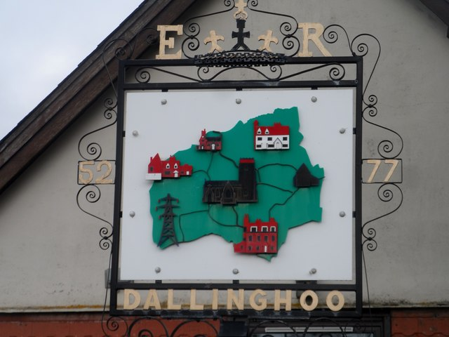 Dallinghoo village sign