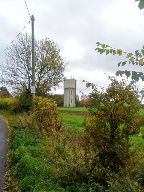 Water tower, Pettistree