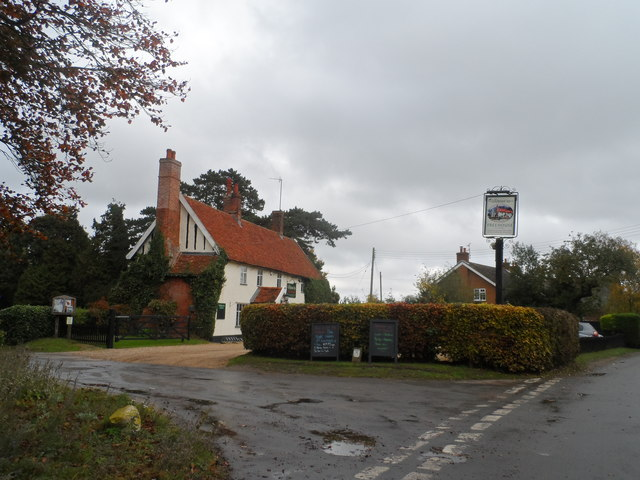 The Greyhound pub, Pettistree