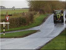 TA0609 : Barnetby road junction by Paul Harrop
