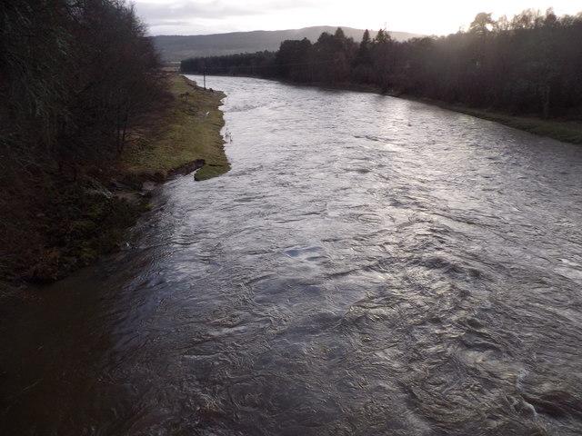 River Dee downstream Of Bridge of Potarch
