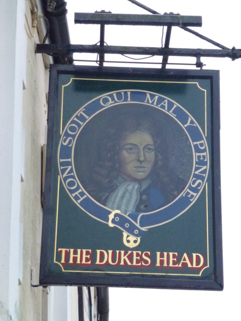 The Dukes Head (Sign) - Public Houses, Inns and Taverns of Wisbech