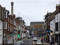 SE4843 : Tadcaster - John Smith's Brewed Here! by Chris Allen