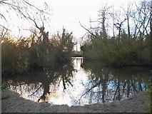 TQ0481 : Little Britain Lake, Cowley by David Howard