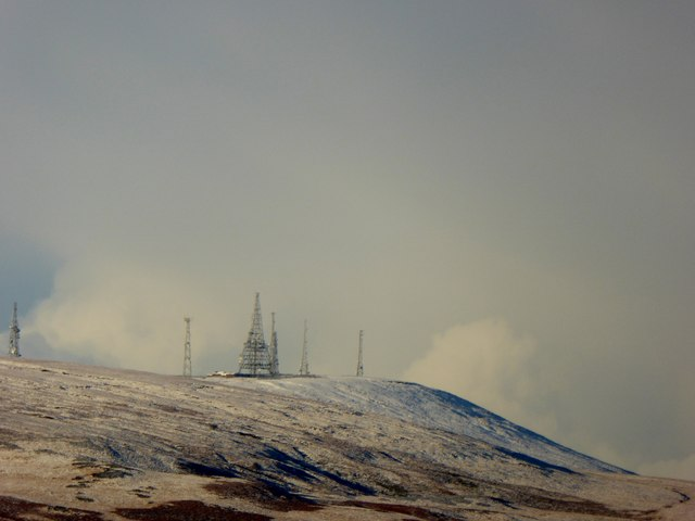 Winter Hill in January