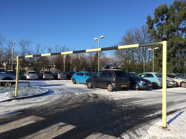 Bradwell Hospital: car park