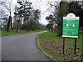 TQ3893 : Main path, Chingford Mount Cemetery by Christine Johnstone