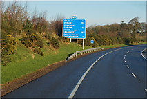 S5625 : M9 Northbound towards junction 10 by Ian S