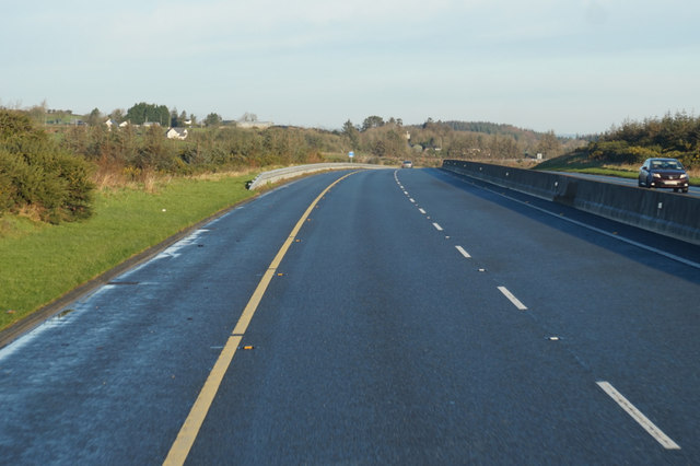 M9 Northbound towards junction 10