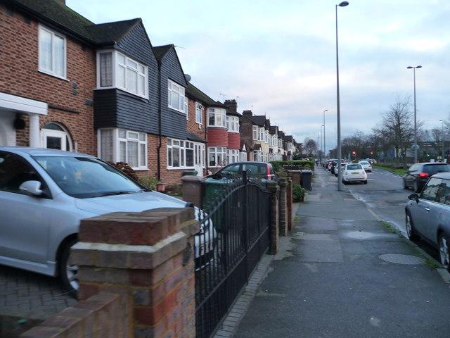 Housing on Larkshall Road