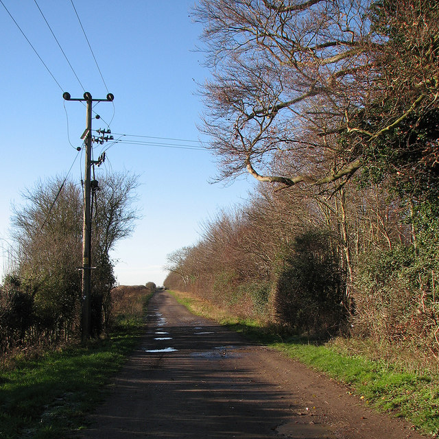 Bridle path to Newton