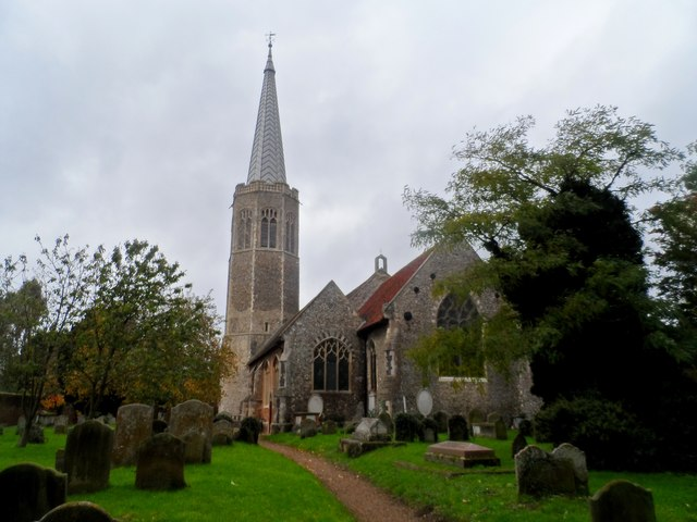 All Saints' church, Wickham Market