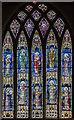 SK9059 : East window, St Michael's church, Bassingham by Julian P Guffogg