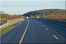 S5137 : M9 Northbound at Junction 10 by Ian S