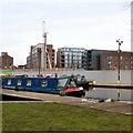 SJ8598 : Lancashire Lass at New Islington  by Gerald England