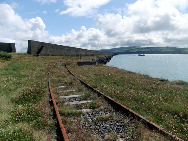 North breakwater, Fishguard harbour (1)