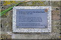 TQ3276 : Plaque recording the bodies recovered from a bombed air raid shelter, Camberwell Green by Robin Stott