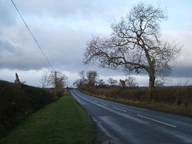 Heading west on Burtree Lane