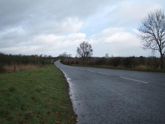 A6072 heading north