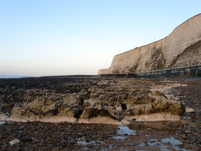 Wave Cut Platforms, Saltdean by Simon Carey