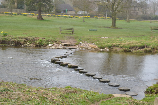 Stepping Stones, River Aire